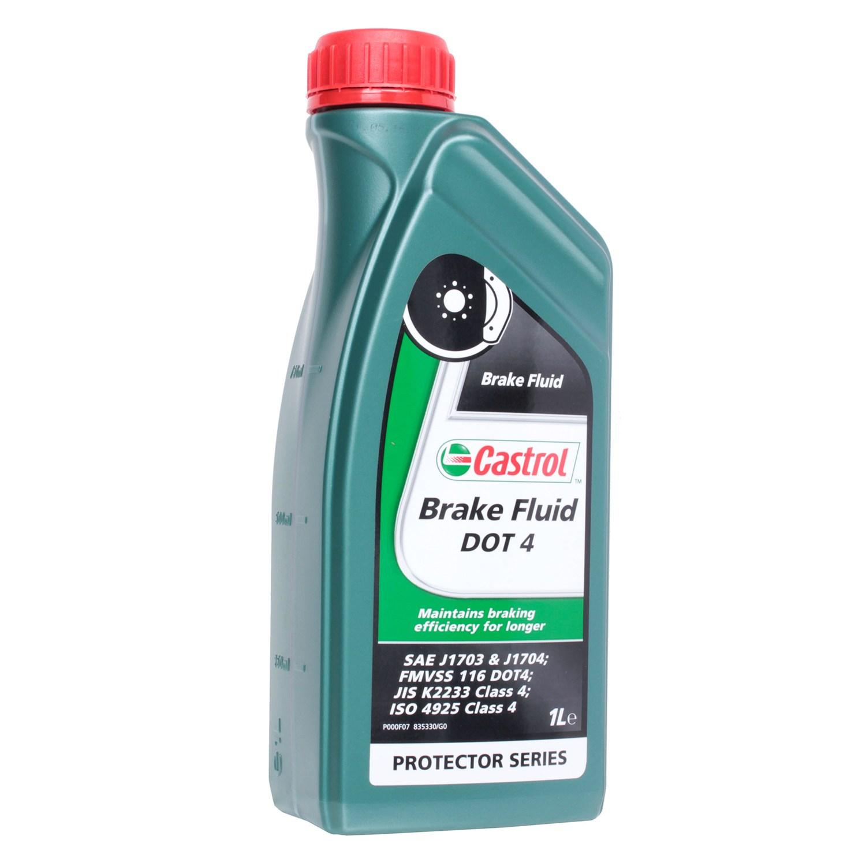 Тормозная жидкость CASTROL React DOT 4 DOT 4 Brake Fluid, 1л