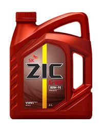 Трансмиссионное масло ZIC 80W90 G-EP