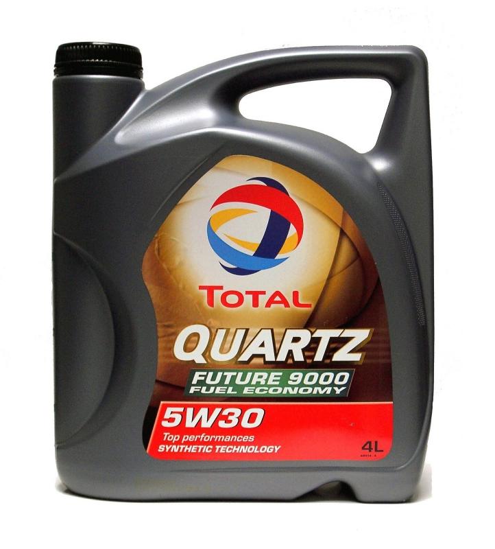 Моторное масло TOTAL quartz fut9000 5w30