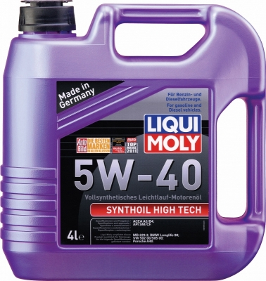 LIQUI MOLY synthoil high tech 5w40