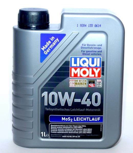 LIQUI MOLY mos2 10w40  Leichtlauf