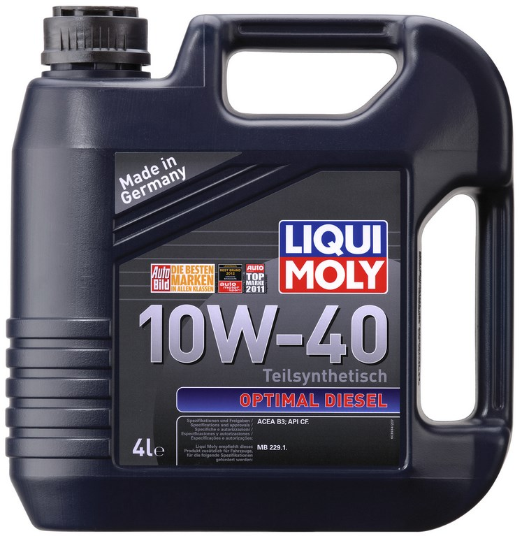 LIQUI MOLY 10w40 optimal diesel