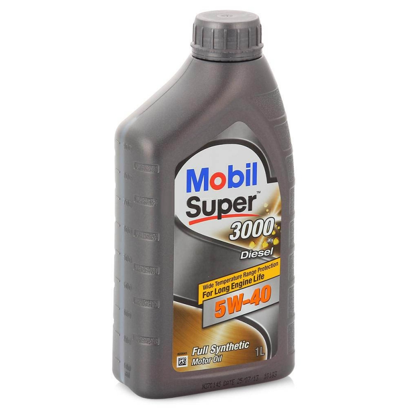 Масло моторное MOBIL super 3000 diesel 5w40