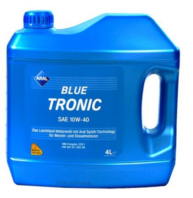 Моторное масло ARAL blue tronic 10W40