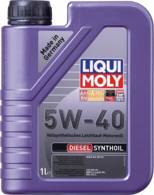 LIQUI MOLY diesel syntoil 5w40
