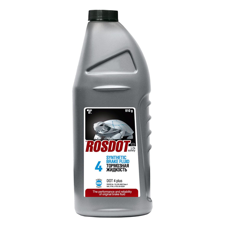 Тормозная жидкость РОСДОТ4 910г