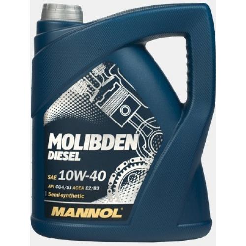 Моторное масло MANNOL 10W 40 Molibden Diesel