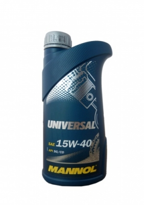 Моторное масло MANNOL 15W40 Universal