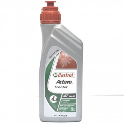 Моторное масло CASTROL ActEvo Scooter 4T 5W-40