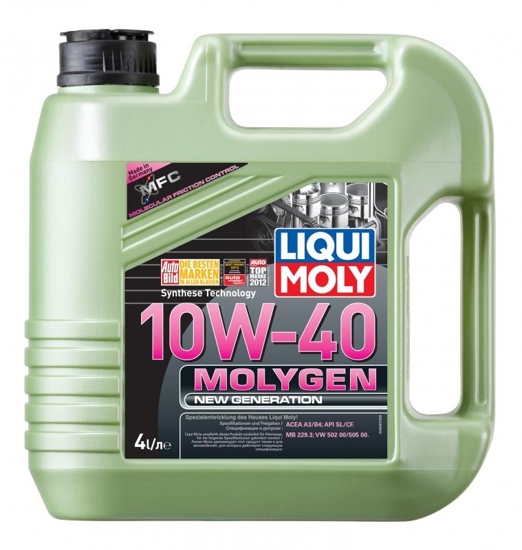 Моторное масло LIQUI MOLY Molygen HC 10w40