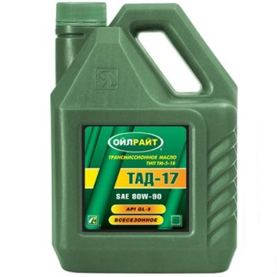 Трансмиссионное масло ОЙЛРАЙТ ТАД-17