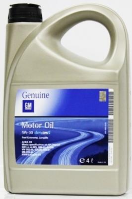 Моторное масло GM DEXOS 2 5W-30