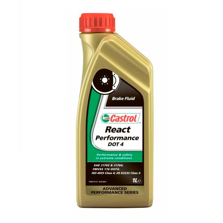 Тормозная жидкость CASTROL DOT 4 React Performance 1л