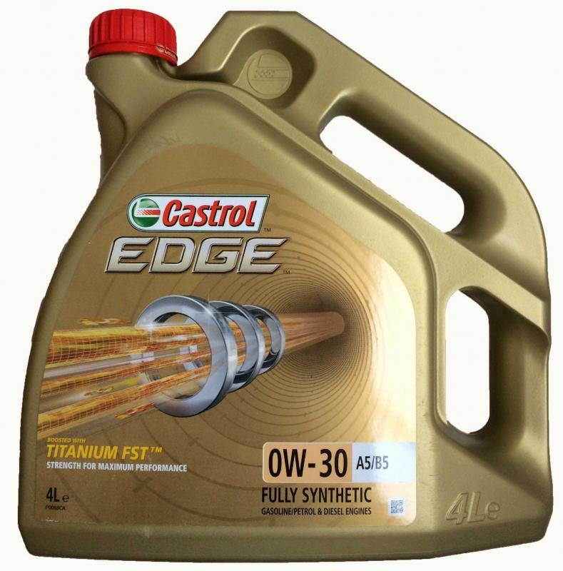 Моторное масло Castrol EDGE  0W30 A5/B5
