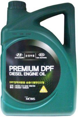 Моторное масло HYUNDAY 5W30 Premium DPF Disel C3