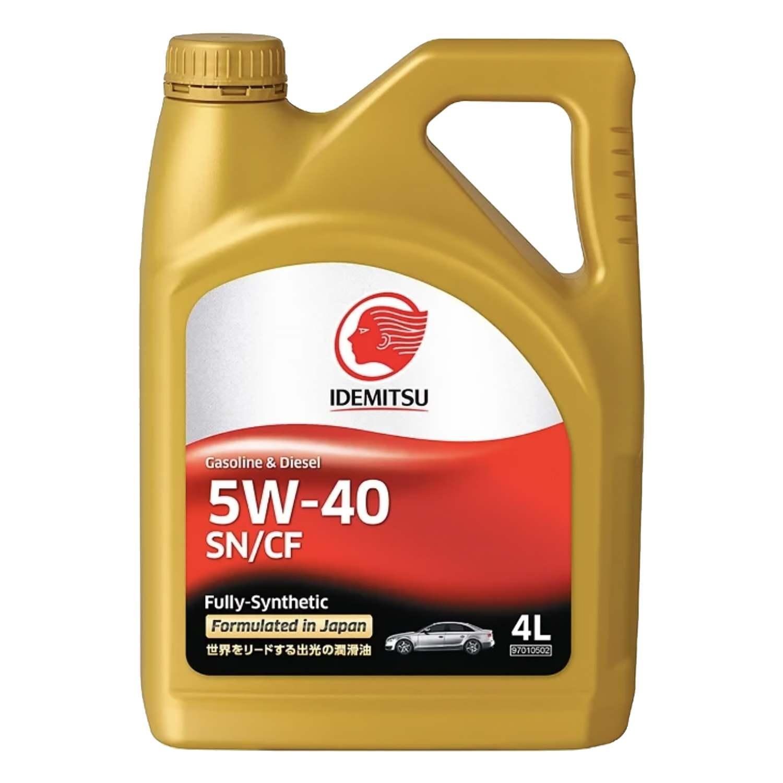 Моторное масло IDEMITSU SN 5w40 A3