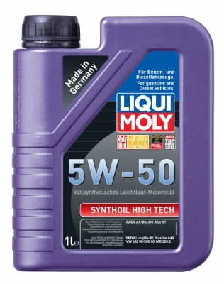 LIQUI MOLY 5w50 Synthoil High Tech