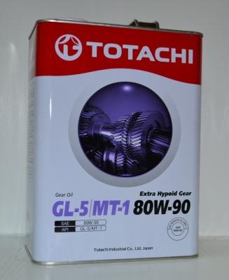 Трансмиссионное масло TOTACHI EHG  80w90 GL-5/MT