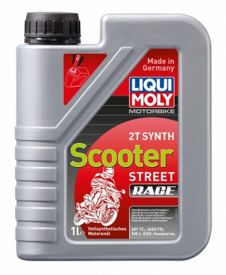 Моторное масло LIQUI MOLY Raising  Scooter 2T