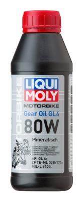Моторное масло LIQUI MOLY Motorrad Gear Oil 80W