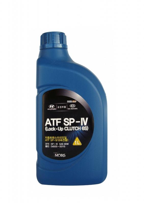 Трансмиссионное масло HYUNDAY ATF SP-4