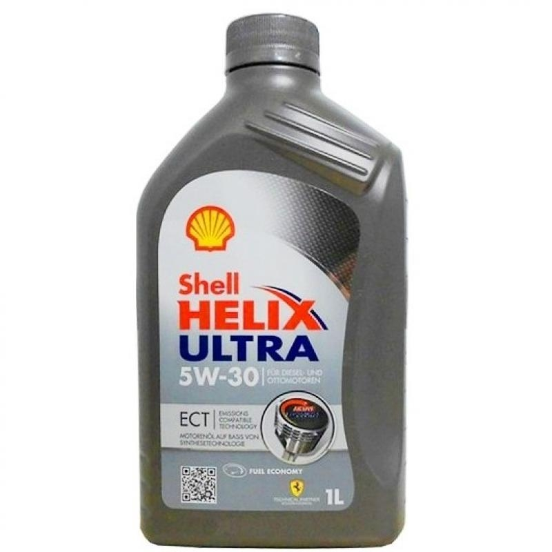 Моторное масло SHELL ULTRA ECT 5W30