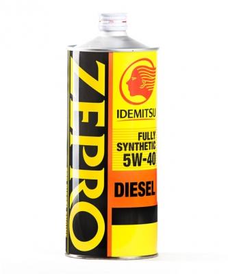 Моторное масло IDEMITSU 5W40 ZEPRO Diesel F-S CF