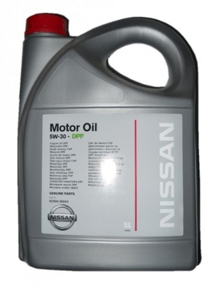 Моторное масло NISSAN DPF 5W30