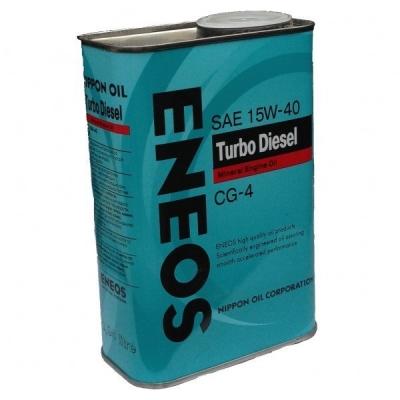 Моторное масло ENEOS turbo diesel 15w40