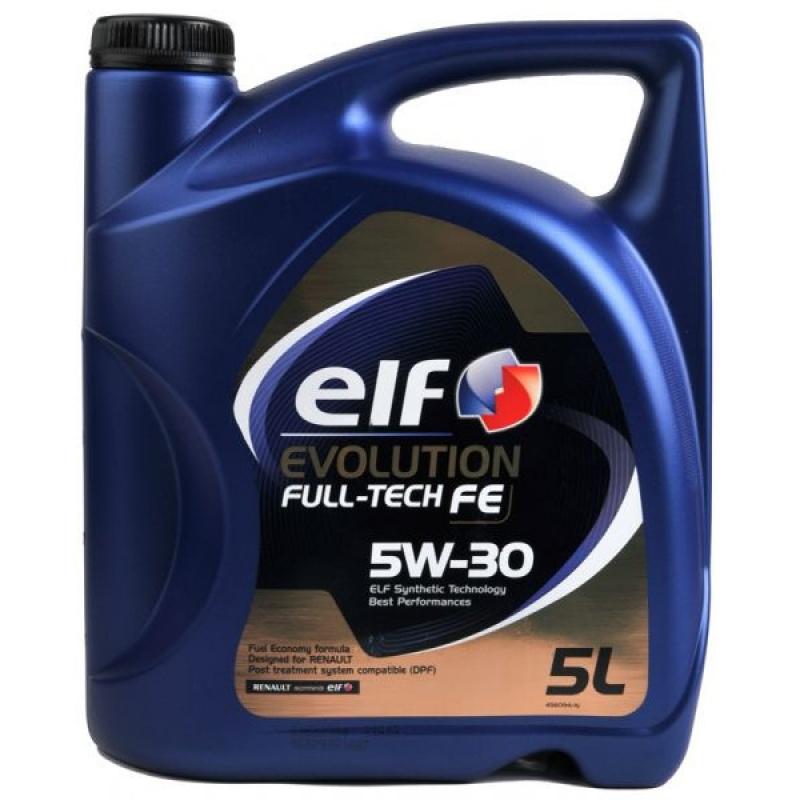Моторное масло ELF evolution Fulltech FE 5w30