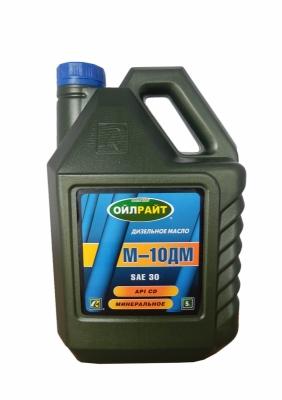 Моторное масло ОЙЛРАЙТ М-10ДМ SAE 30