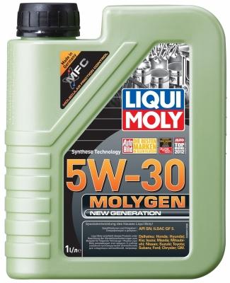 Моторное масло LIQUI MOLY molygen 5w30 HC SN