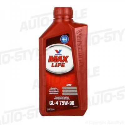 Трансмиссионное масло VALVOLINE Maxlife GL-4 75 W90