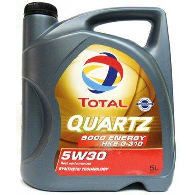 Моторное масло TOTAL QUARTZ 5w 30  ENERGY HKS 9000