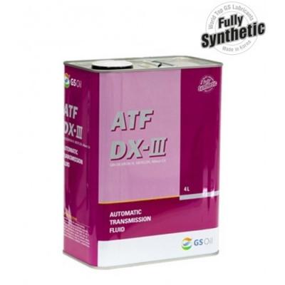 Трансмиссионное масло KIXX ATF DX  III