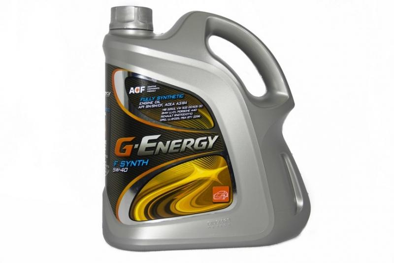 Моторное масло G ENERGI 5w40 F Synth