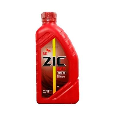 Трансмиссионное масло масло ZIC GFT 75W90 R GL-4/GL-5