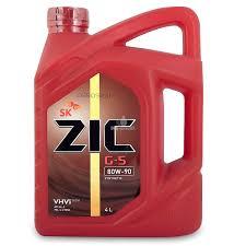 Трансмисионное масло ZIC 80W90 G-5