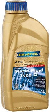 Трансмиссионное масло RAVENOL ATF Matic Fluid Type D