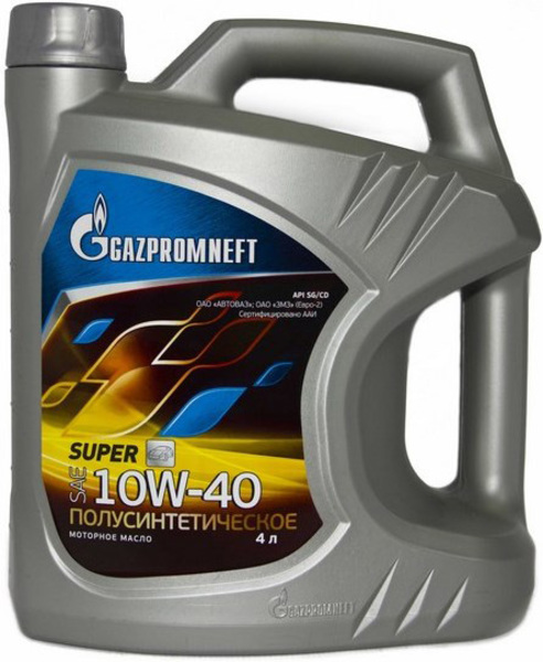 Моторное масло GAZPROMNEFT Super 10w40 SG/CD