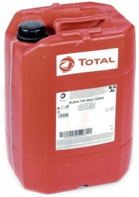 Моторное масло TOTAL Rubia 8600 10W40