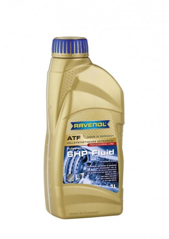 Трансмиссионное масло RAVENOL ATF 6 HP Fluid