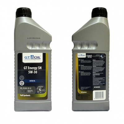Моторное масло GT OIL GT Energy SN 5w30