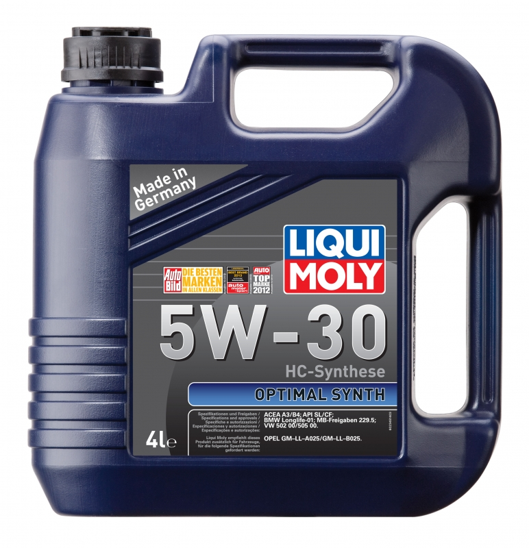 Моторное масло LIQUI MOLY 5W30 Optimal Synth