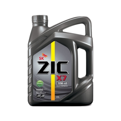 Моторное масло ZIC R X7 10w40 Diesel