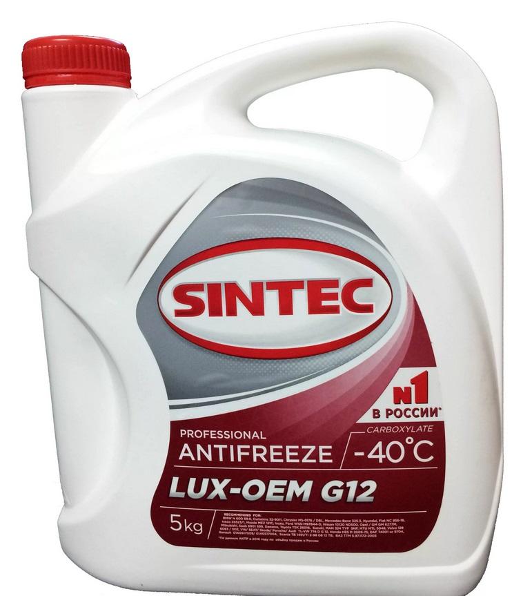 Антифриз SINTEC Красный 5л
