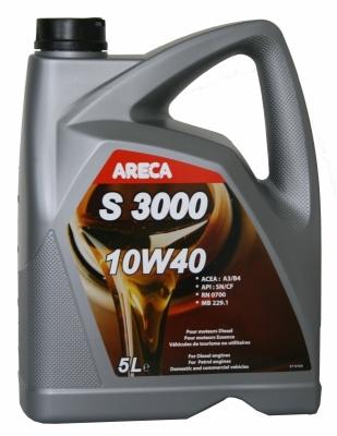 Моторное масло ARECA S3000 10w40