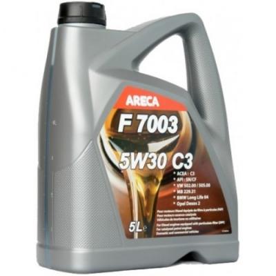 Моторное масло ARECA F7003 5w30
