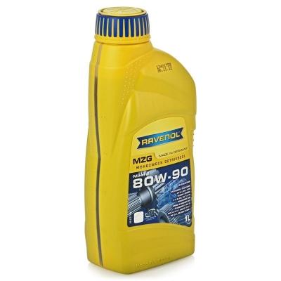 Трансмиссионное масло RAVENOL Getriebeoel MZG 80w90 GL-4