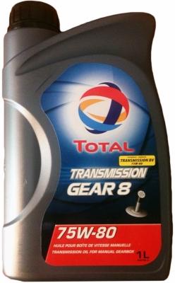Трансмиссионное масло TOTAL 75w80 TG 8